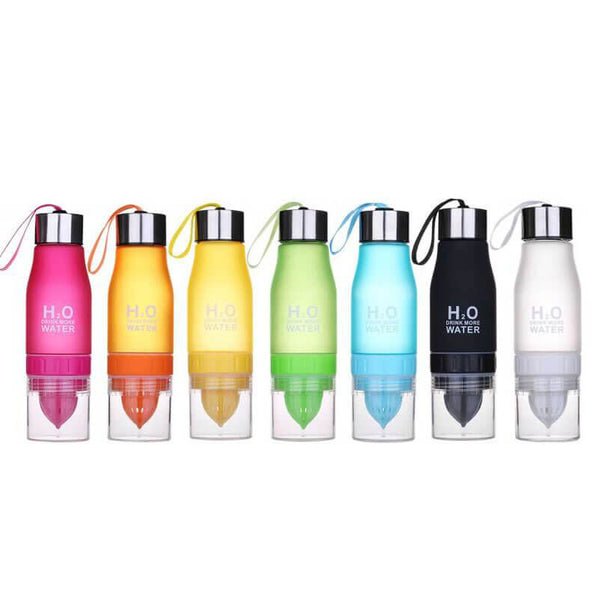 H2O™ Waterfles met Citruspers / Infuser - EasyEco