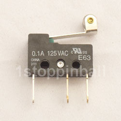 Sub-microswitch with Blade Rollover - E63