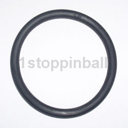 "2 1/2"" Black Rubber Ring"