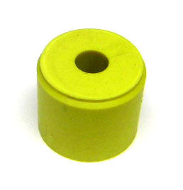 "Rubber Bumper Sleeve Yellow 3/4"" x 5/8"""