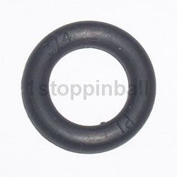 "3/4"" Black Rubber Ring"