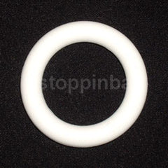 "1"" White Rubber Ring"