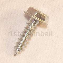 "#6 x 1/2"" Unslotted Hex Head Screw"