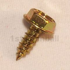 "#6 x 3/8"" Unslotted Hex Head Screw"