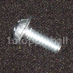 "#6-32 x 3/8"" Machine Screw with Built-in Washer"