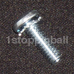 "#8-32 x 1/2"" Pan Screw with Locking Washer"