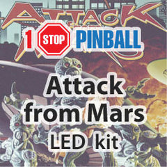 Attack from Mars - Pinball Led Kit
