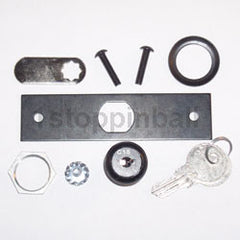 Williams/Bally Backbox Lock and Lock Plate Assembly