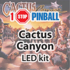 Cactus Canyon - Pinball Led Kit