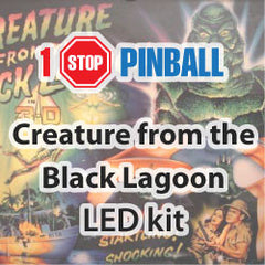 Creature from the Black Lagoon - Pinball Led Kit