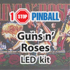 Guns 'n' Roses - Pinball LED Kit