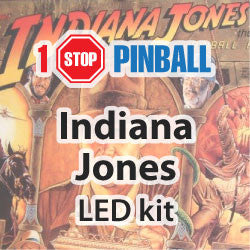 Indiana Jones ( Williams ) - Pinball LED Kit