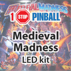 Medieval Madness - Pinball Led Kit