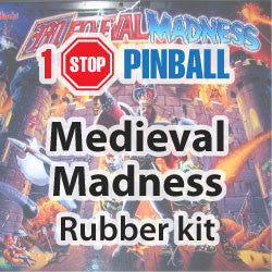 Medieval Madness Rubber Kit