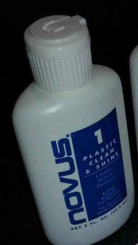 Novus 1 - Plastic Clean and Shine 2oz Bottle