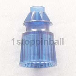 "Plastic Translucent Star Posts 1-1/16"" Tall"