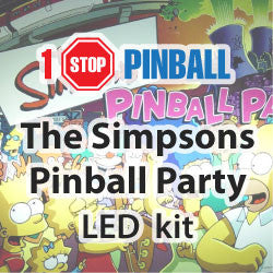 The Simpson Party Pinball - Pinball Led Kit