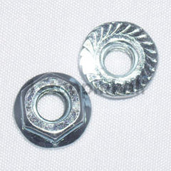 1/4-20 Coin Door Whiz Flange Locknut