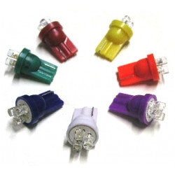 #555 3-LED Super Bright Base Lamp - Various Colours