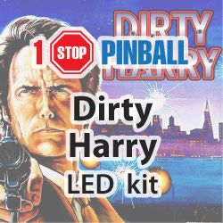 Dirty Harry - Pinball LED Kit