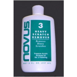 Novus 3 - Heavy Scratch Remover 2oz Bottle