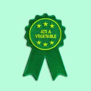 Ate a Vegetable Ribbon Patch