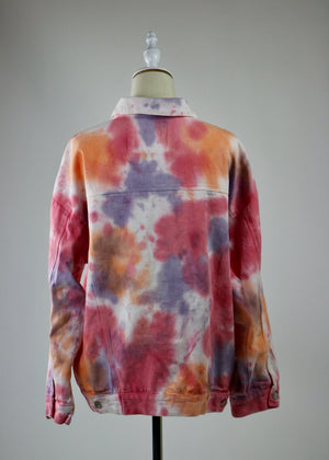 V is for Vintage Tie Dye Jean Jacket