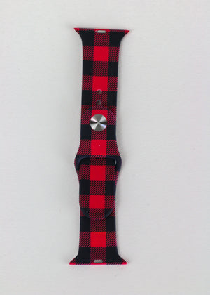 Lumberjack Chic Plaid Apple Watch Strap