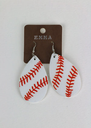 Baller Earrings -Sports it Up