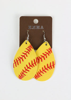 Baller Earrings -Sports it Up.  The Perfect Gift for the Sportsy One in Your Life!