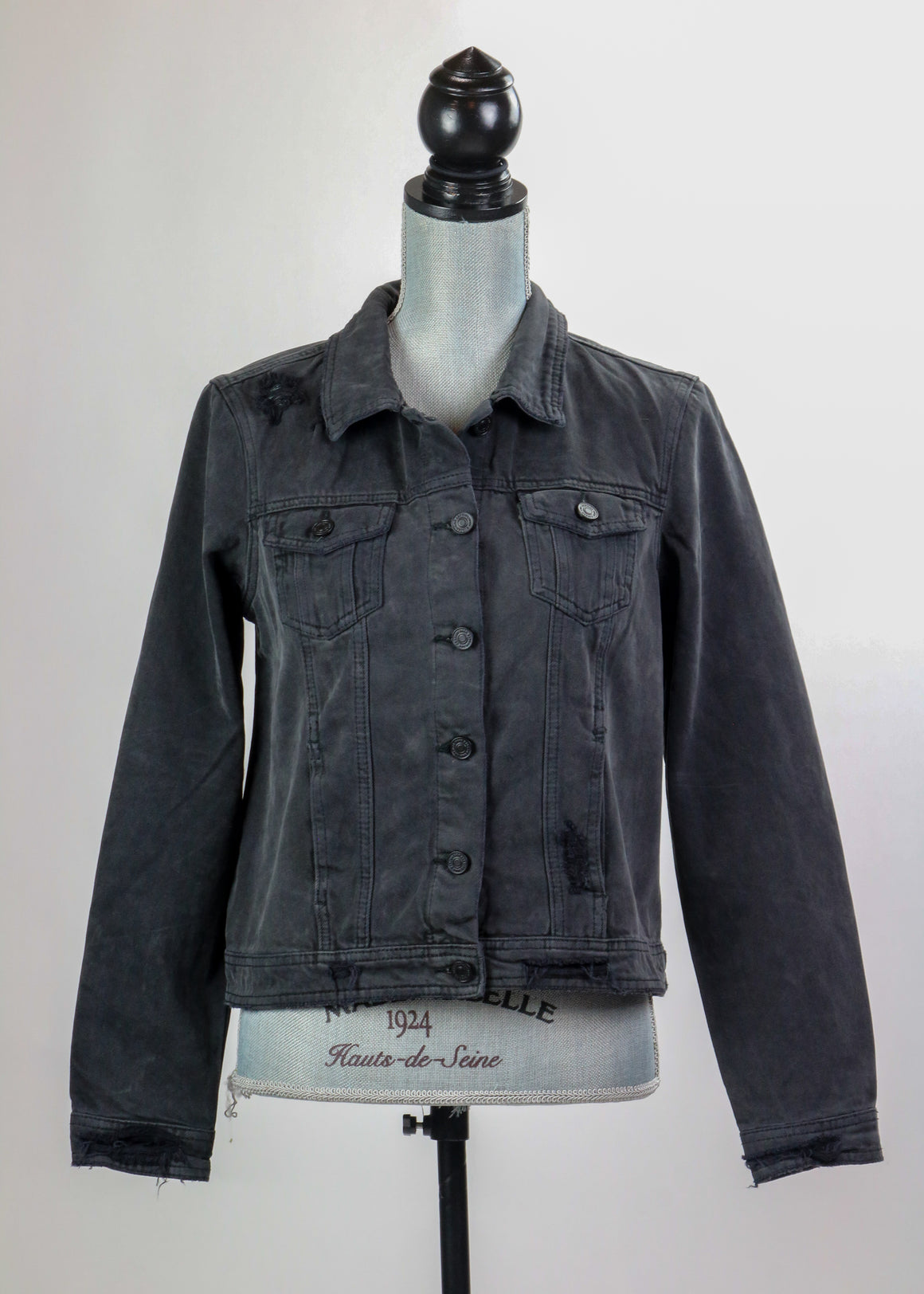 Take it Easy Charcoal Jean Jacket