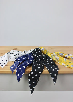 Tie it in a Bow Ribbon Scrunchies