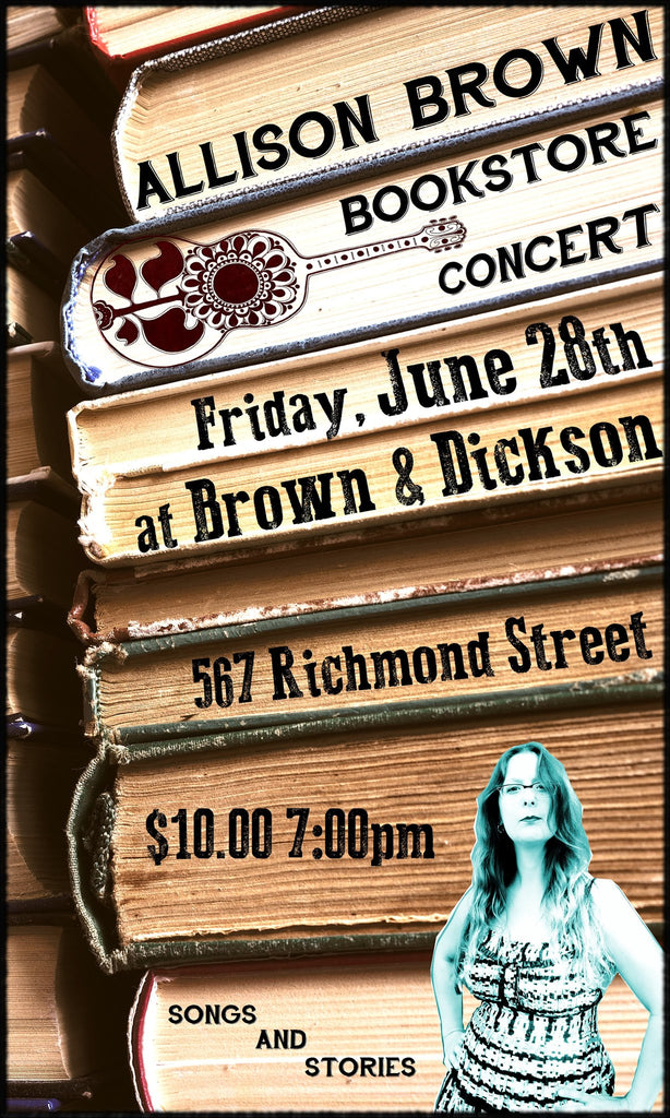 Allison Brown Bookstore Concert
