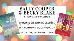 Sally Cooper and Becky Blake Reading