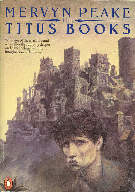 The Titus Books by Mervyn Peake