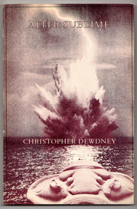 Alter Sublime by Christopher Dewdney First Edition