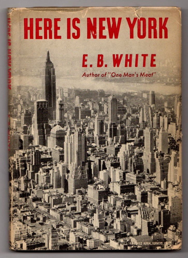 Here Is New York by E.B. White First Edition Front Cover
