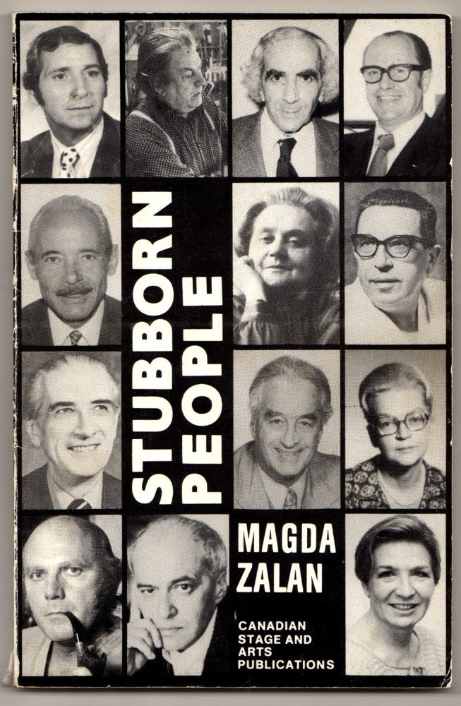 Stubborn People by Magda Zalan