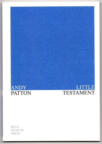 Brown & Dickson Book Little Testament by Andy Patton