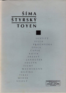 Brown & Dickson Book Sima, Styrsky, Toyen