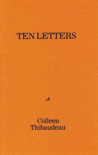 Brown & Dickson Book Ten Letters by Colleen Thibaudeau