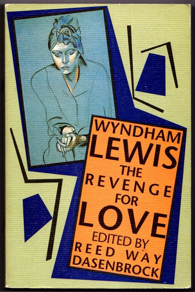 Brown & Dickson Book The Revenge for Love by Wyndham Lewis