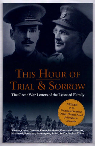 Brown & Dickson Book This Hour of Trial & Sorrow - Tamar Cachet