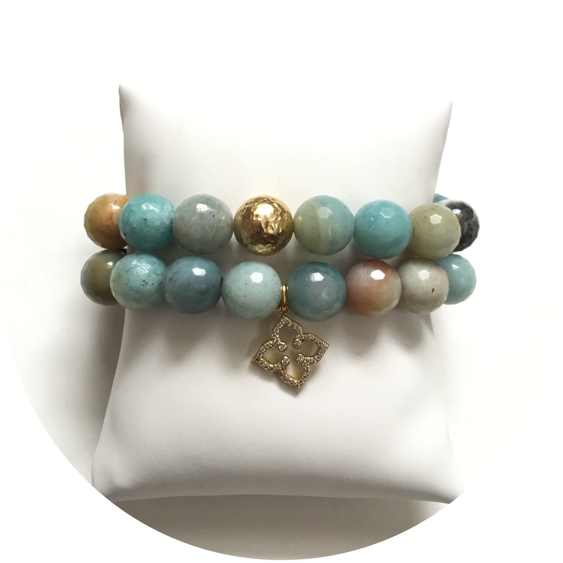 Amazonite Color Stax - Oriana Lamarca LLC