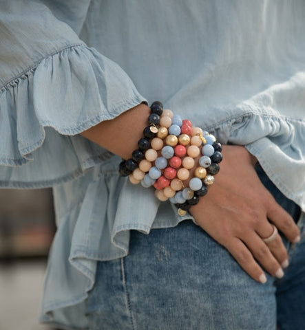 Serenity Blue Agate Armparty #2