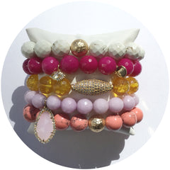 Summer Sunset Armparty - Oriana Lamarca LLC