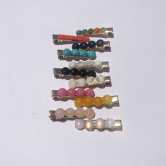 Customize Your Gemstone Hair Clips - Oriana Lamarca LLC