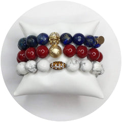 New York Giants Armparty - Oriana Lamarca LLC