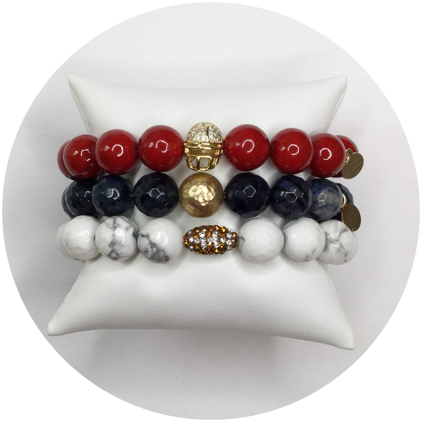 New England Patriots Armparty