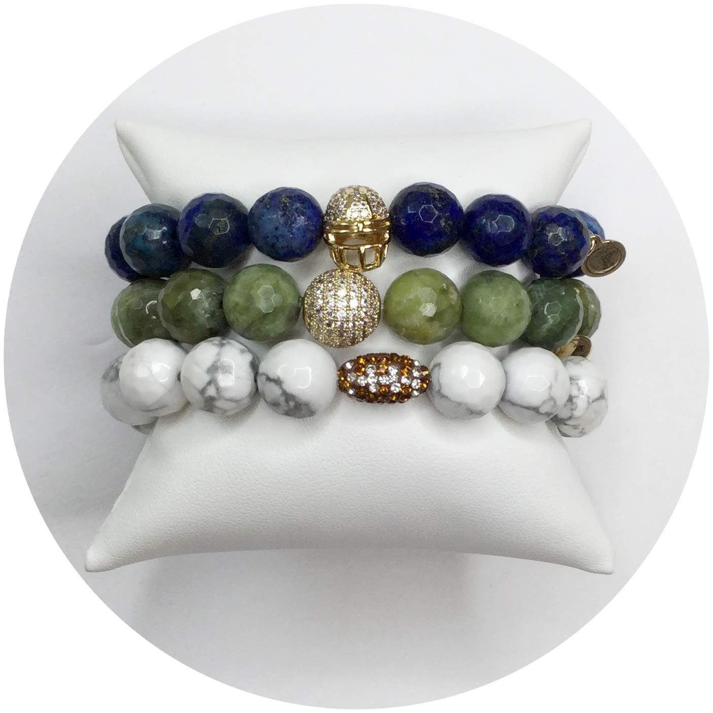 Seattle Seahawks Armparty - Oriana Lamarca LLC